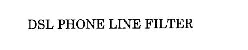 DSL PHONE LINE FILTER
