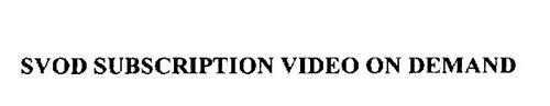 SVOD SUBSCRIPTION VIDEO ON DEMAND