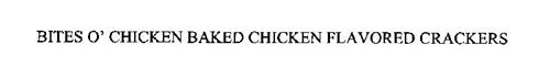 BITES O' CHICKEN BAKED CHICKEN FLAVORED CRACKERS
