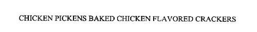 CHICKEN PICKENS BAKED CHICKEN FLAVORED CRACKERS