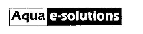 AQUA E-SOLUTIONS