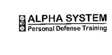 ALPHA SYSTEM PERSONAL DEFENSE TRAINING