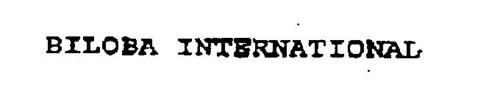 BILOBA INTERNATIONAL