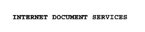 INTERNET DOCUMENT SERVICES