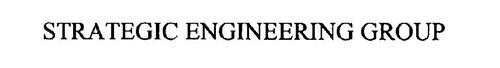 STRATEGIC ENGINEERING GROUP