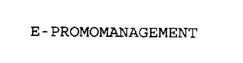 E-PROMOMANAGEMENT