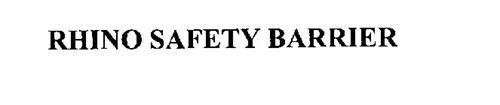RHINO SAFETY BARRIER