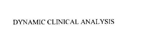 DYNAMIC CLINICAL ANALYSIS