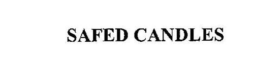SAFED CANDLES