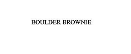 BOULDER BROWNIE