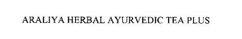 ARALIYA HERBAL AYURVEDIC TEA PLUS