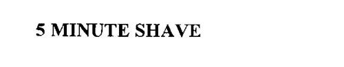 5 MINUTE SHAVE