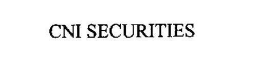 CNI SECURITIES