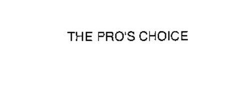 THE PRO'S CHOICE