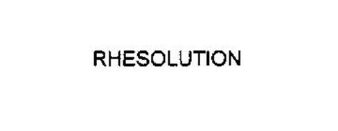RHESOLUTION