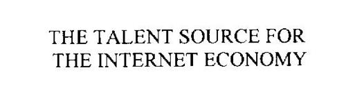 THE TALENT SOURCE FOR THE INTERNET ECONOMY