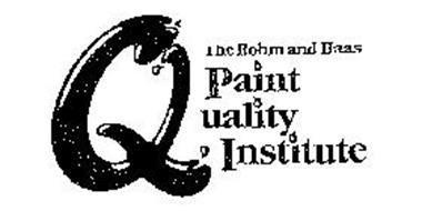 THE ROHM AND HAAS PAINT QUALITY INSTITUTE