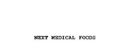 NEXT MEDICAL FOODS
