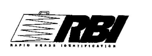 RBI RAPID BRASS IDENTIFICATION