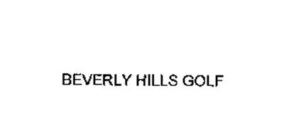 BEVERLY HILLS GOLF