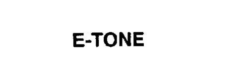 E-TONE