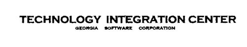 TECHNOLOGY INTEGRATION CENTER GEORGIA SOFTWARE CORPORATION