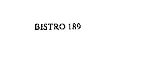 BISTRO 189
