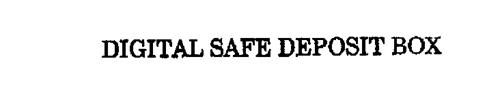 DIGITAL SAFE DEPOSIT BOX