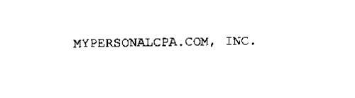 MYPERSONALCPA.COM, INC.
