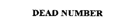 DEAD NUMBER