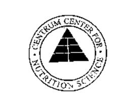 CENTRUM CENTER FOR NUTRITION SCIENCE