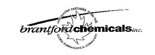 BRANTFORDCHEMICALSINC. INNOVATIVE PARTNERS WITH THE GLOBAL PHARMACEUTICAL COMMUNITY