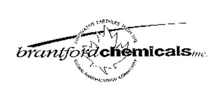 BRANTFORD CHEMICALS INC. INNOVATIVE PARTNERS WITH THE GLOBAL PHARMACEUTICAL COMMUNITY