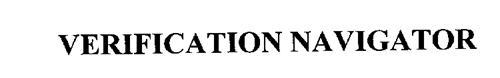 VERIFICATION NAVIGATOR