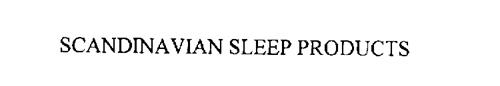 SCANDINAVIAN SLEEP PRODUCTS