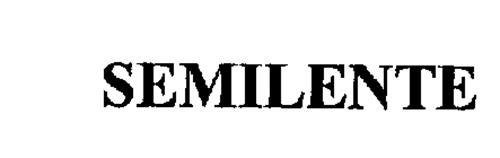 SEMILENTE