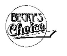 BECKY'S CHOICE