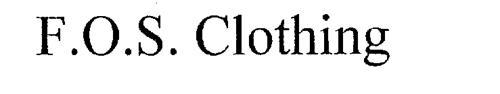 F.O.S. CLOTHING