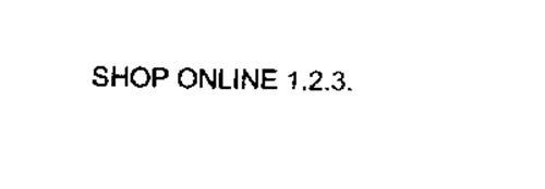 SHOP ONLINE 1.2.3.