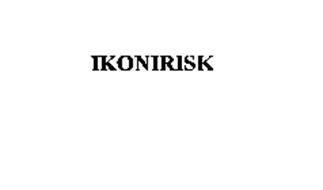 IKONIRISK