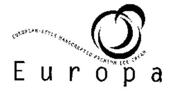 EUROPA EUROPEAN-STYLE HANDCRAFTED PREMIUM ICE CREAM