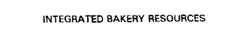 INTEGRATED BAKERY RESOURCES