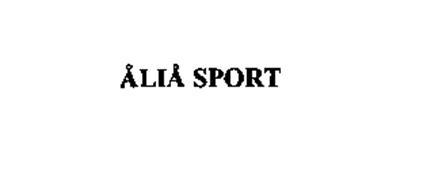 ALIA SPORT