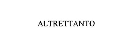 ALTRETTANTO