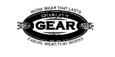 QUALITY GEAR WORK WEAR THAT LASTS CASUAL WEAR THAT WORKS