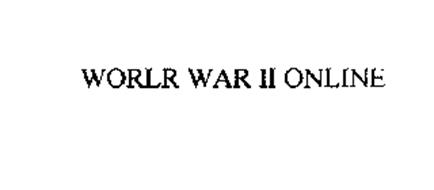 WORLR WAR II ONLINE