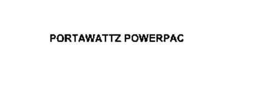 PORTAWATTZ POWERPAC