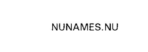 NUNAMES.NU