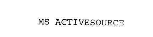 MS ACTIVESOURCE