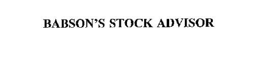 BABSON'S STOCK ADVISOR